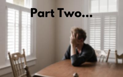 Overcoming Debilitating Anxiety Part 2